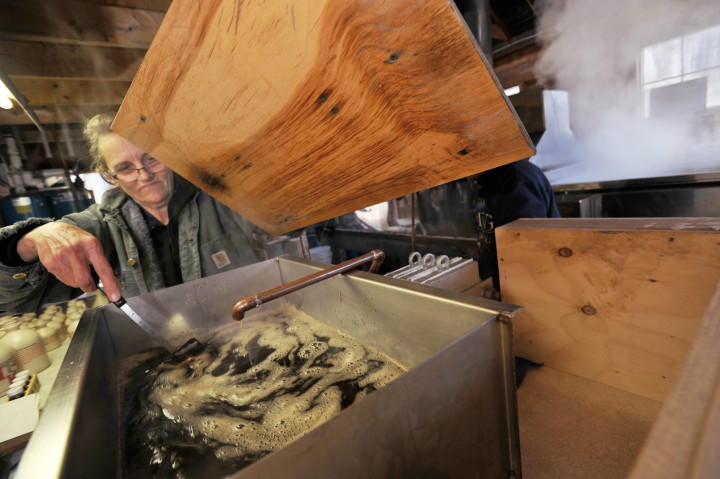 08 16news Hand Hollow Maple Syrup with photo